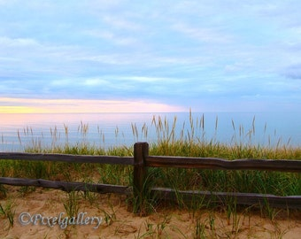 Lake Superior Sunset  - Upper Peninsula Michigan - 8x12 Fine Art Giclee Print