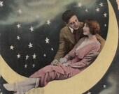 Have You Ever Kissed Her- 1915 Vintage Postcard- Used