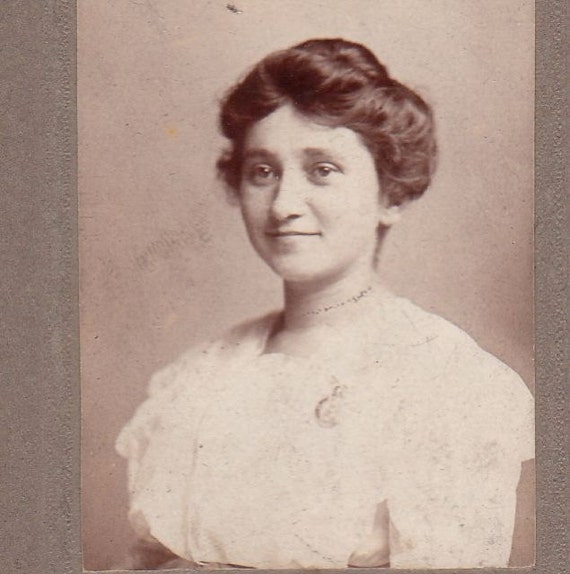 Coco Swavely Baker- Mini Victorian Cabinet Photograph