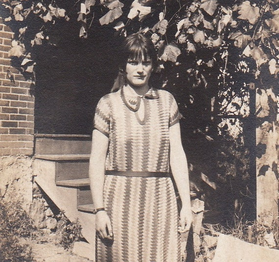 Why the Sour Face- 1920s Vintage Photograph