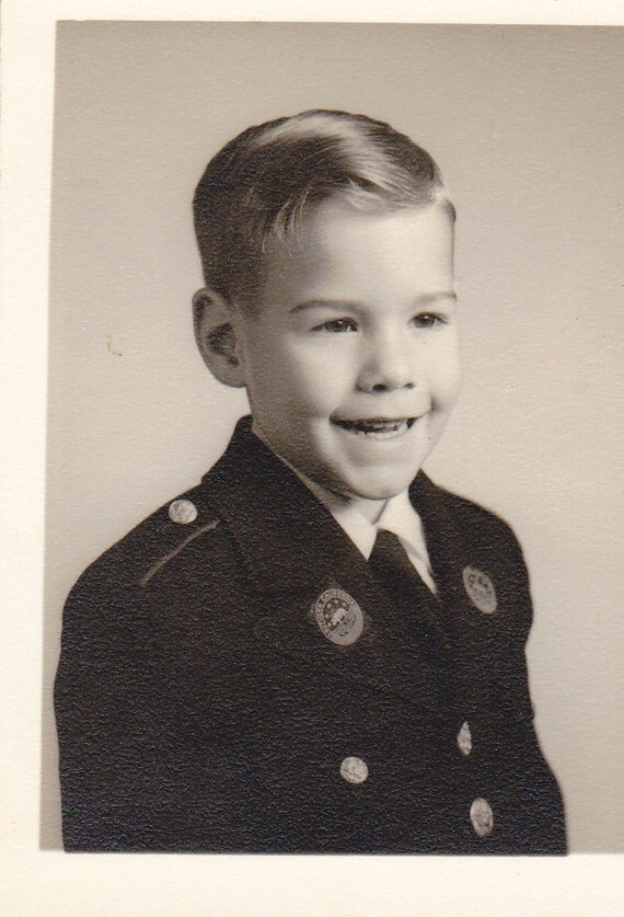 Southern Californina School Uniform- 1950s Vintage Photograph