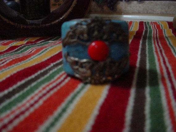 Vintage Tibetan Thumb Ring