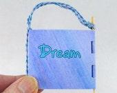Miniature Accordion Book Dreams Inspiration Book