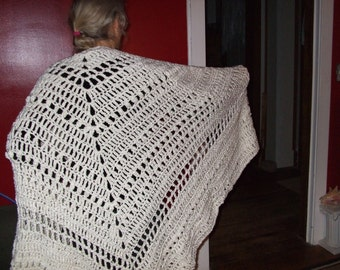 Hand-Croched Shawl