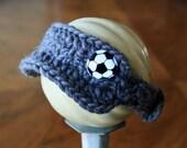 Newborn Soccer Visor.  Newborn Photo Prop.  Custom Made.  Other Colors Available.