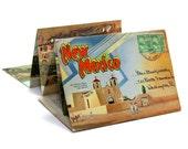 New Mexico Postcard Scenic Folder 1948