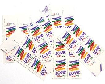Love Postage Stamps Unused 32 USPS