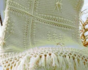 Handmade Afghan Lap Blanket