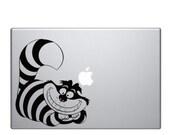Chesire Cat - Macbook Laptop Decal Sticker