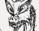 feline dragon