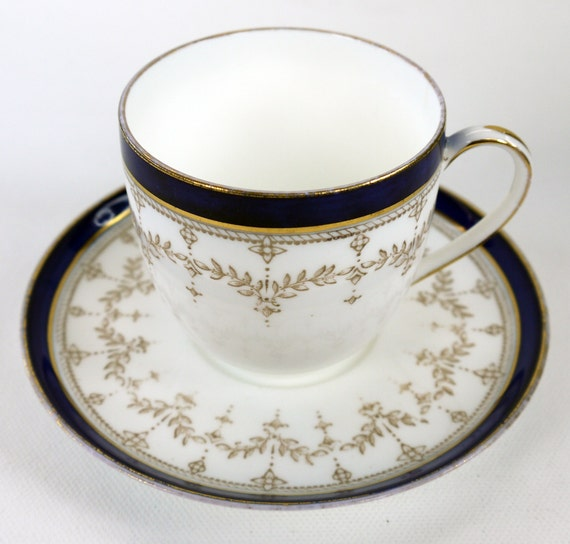 wedgwood english bone china cup and saucer no y6458 1896. Black Bedroom Furniture Sets. Home Design Ideas