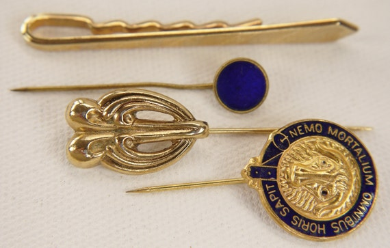 Vintage Stick Pins Tie Pins Tie Tacks Lapel Pins