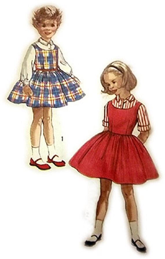 1950's Little Girl's Dress Pattern