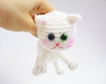 Pattern, Tutorial, Amigurumi Pattern, Amigurumi Cat Pattern, Crochet Kitten, Amigurumi Crochet Kitty Pattern