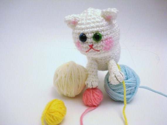 Kitty Abeja Amigurumi : Pattern Amigurumi Pattern Amigurumi Cat Pattern by AllSoCute