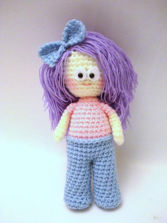 Pattern, Amigurumi Pattern, Crochet Girl Pattern, Amigurumi Doll Pattern, Amigurumi Girl Pattern, PDF Amigurumi, Crochet Pattern, Tutorial