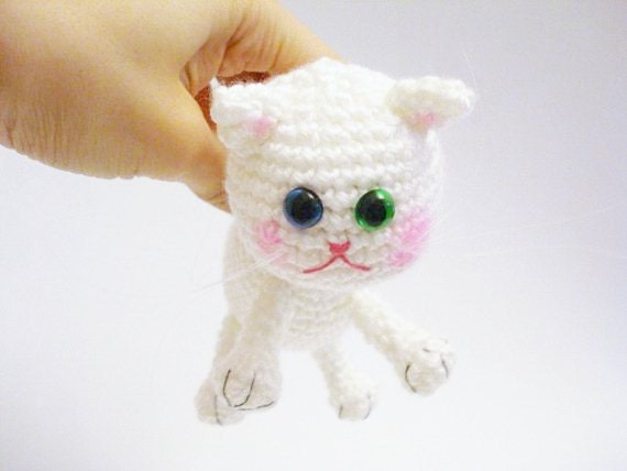 Pattern, Tutorial, Amigurumi Pattern, Amigurumi Cat Pattern, Crochet Kitten, Amigurumi Crochet Kitty Pattern