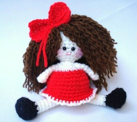Amigurumi Mini Doll Pattern : Pattern Amigurumi Doll Pattern Amigurumi Girl Pattern