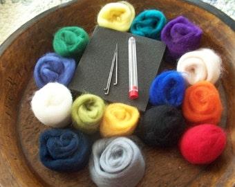 NEEDLE FELTING   Starter kit, Learn to needle felt