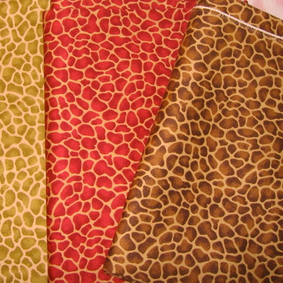 Fabric Jungle Animal Print Home Decor Projects Pillows