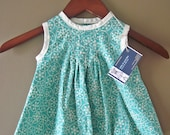 Pleated Snowflake Dress Size 6-9 months