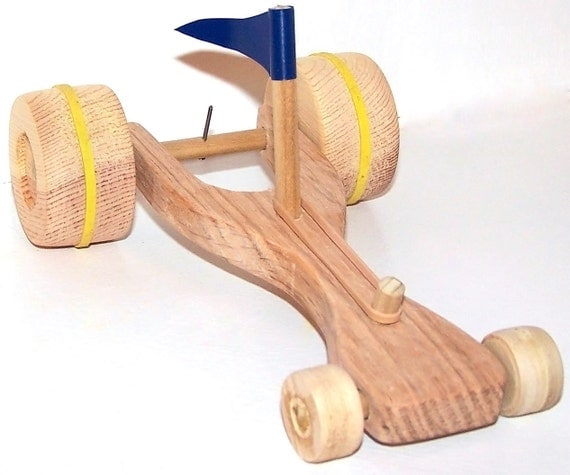 Items Similar To Rubber Band Powered Dragster Race Car