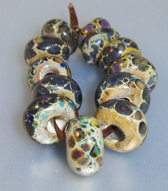 Lampwork Beads (12)- Troll Style Collection