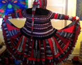 Available Now - Upcycled Sweater Jacket Dress  Size Large - XL (14-18) Coat  OOAK Elf Gypsy Recycled