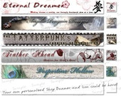 OoaK Your Items Etsy Banner & Icon set