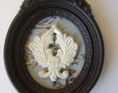 French Country Wallhanging-Assemblage-Shabby Chic