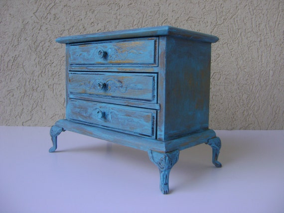 French Country Jewelry Box