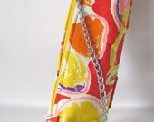Handbag Vintage 70's Fabric