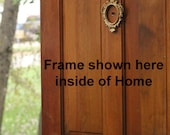 Fancy framed peep hole for your door - last one