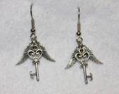Flying Key Earrings