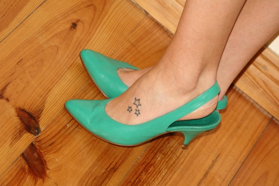 heel slingback shoes