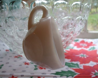Milk Glass Punch Cup