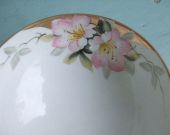 Hand Painted Bowl Azalea Nippon 1890s - 1921