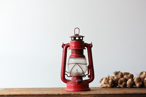 Vintage Red Lantern