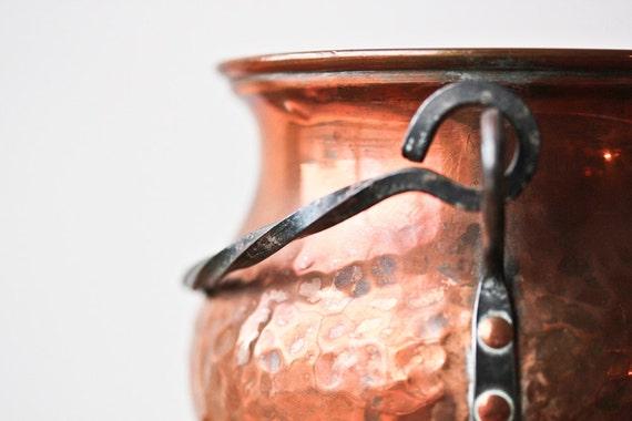 Copper Pot European Antique - RESERVED for Svetlana
