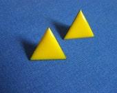 Perfect Geometry Vintage Earrings