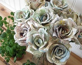 Paper Roses Tutorial Instant Download PDF