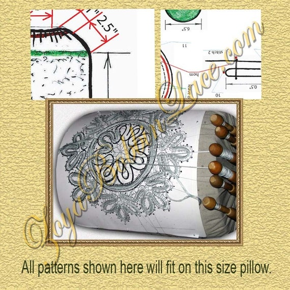 Make your own Russian style bobbin lace pillow under 10 backs or even less.