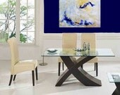 WaTeRfALL Original Abstract painting Wall Art Home Decor Sage Slate Cobalt Gold Tan White