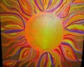 FUN SUN acrylic on canvas