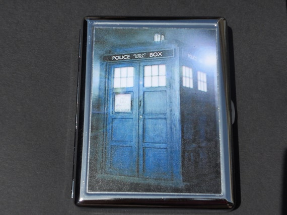 Tardis Cigarette Case/Flat Wallet