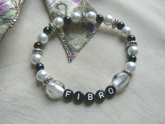 Fibromyalgia Awareness Bracelet