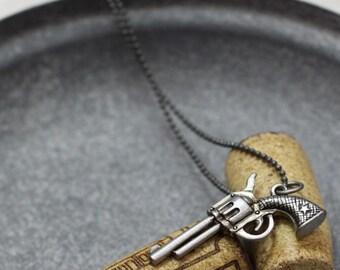 Vintage Gun Necklace 2