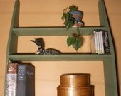 Shaker style utility shelving-Handy anywhere you need accessible storage