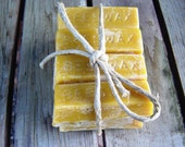 Organic Beeswax , pure & clean, 12 - 1oz pieces