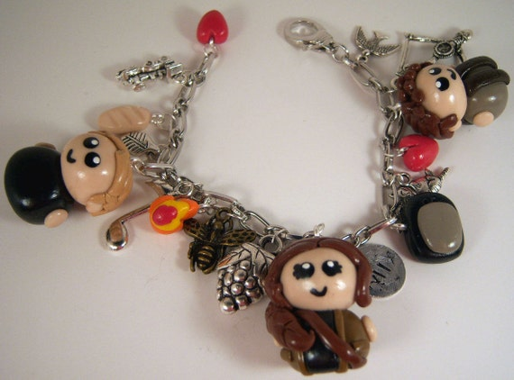 SALE - The Hunger Games Charm Bracelet